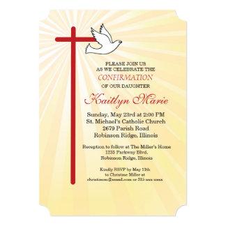 Tarjeta Rayos del oro de la Cruz Roja y de la paloma de la