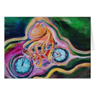 Tarjeta Realmente, es apenas una bicicleta construida para