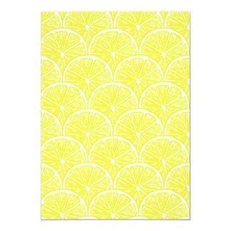 Tarjeta Rebanadas del limón