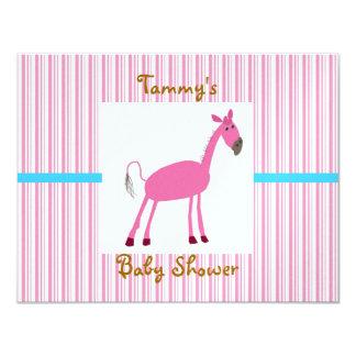 Tarjeta recién nacida de la invitación del bebé invitación 10,8 x 13,9 cm