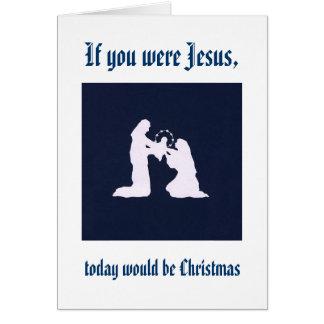Tarjeta Recuerde a Jesús en su cumpleaños