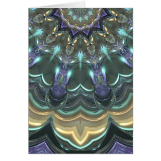 Tarjeta Reflexiones cristalinas de Sun