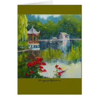 "Tarjeta ""Reflexiones de Chongqing """