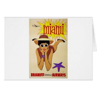 Tarjeta Regalos de las vacaciones de Miami