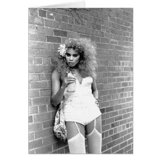 Tarjeta Reina de fricción NYC. 1989