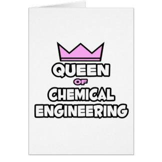 Tarjeta Reina de la ingeniería química
