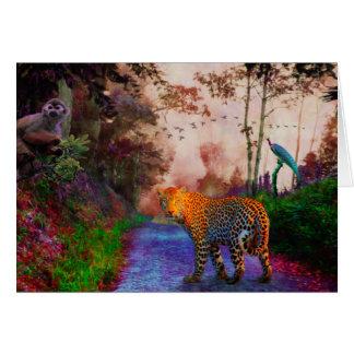 Tarjeta Reino animal 1