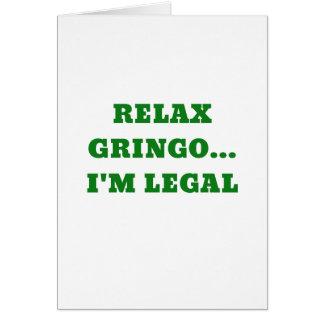 Tarjeta Relaje al Gringo Im legal