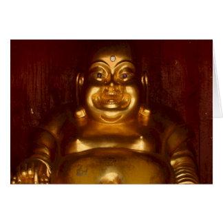 Tarjeta Religión del budista del templo de Tailandia del ~