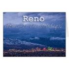 Tarjeta Reno Nevada sazona saludos