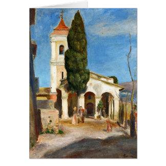 Tarjeta Renoir - capilla de nuestra señora de la