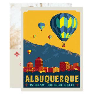 Tarjeta Reserva de Albuquerque, New México el | la fecha -