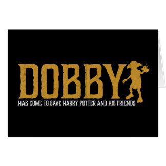 Tarjeta Reserva Harry Potter del Dobby de Harry Potter el