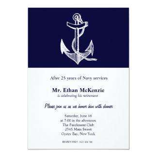 Tarjeta Retiro de la marina de guerra