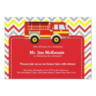 Tarjeta Retiro del bombero