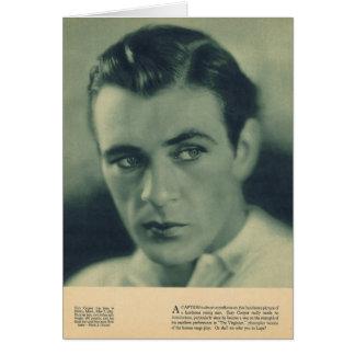 Tarjeta Retrato 1930 del tonelero de Gary