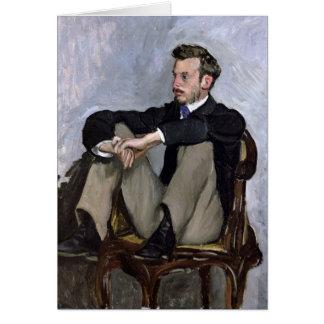 Tarjeta Retrato de Auguste Renoir, 1867