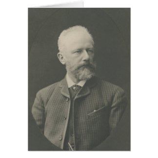 Tarjeta Retrato de Tchaikovsky