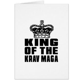 TARJETA REY OF THE KRAV MAGA