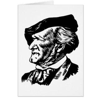 Tarjeta Richard Wagner