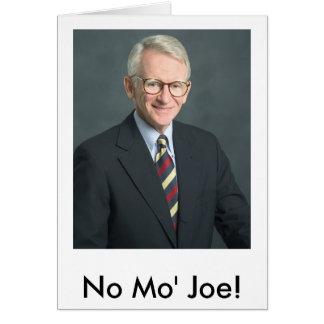 Tarjeta ¡riley_joe, ningún Mo Joe!