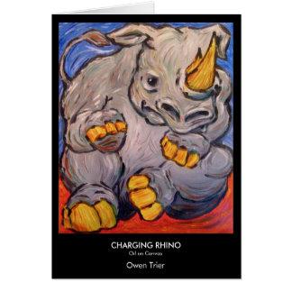 Tarjeta Rinoceronte de carga