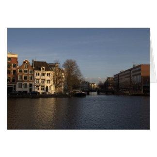 Tarjeta Río de Amstel, Amsterdam
