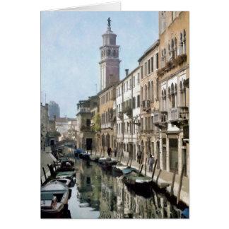 Tarjeta Río Ognissanti, Venecia