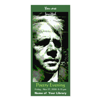 Tarjeta Robert Frost
