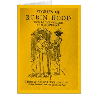 Tarjeta Robin Hood como dijo