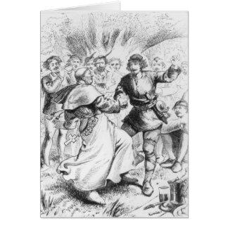 Tarjeta Robin Hood y el obispo