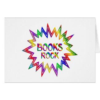 Tarjeta Roca de los libros