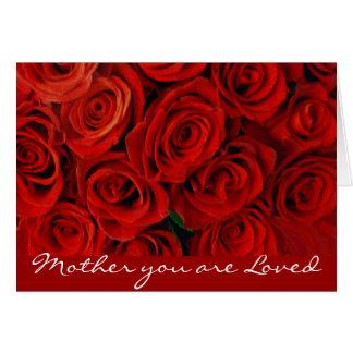 Tarjeta roja de Roses_