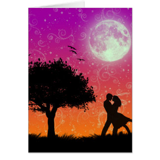 Tarjeta romántica - esconda dentro