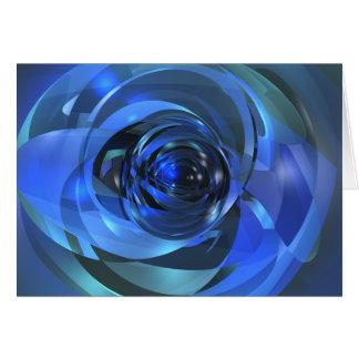 Tarjeta Rondo azul