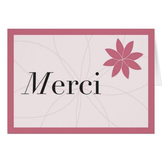 Tarjeta Rosa de Merci