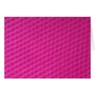 Tarjeta Rosa purpurino brillante con depresiones