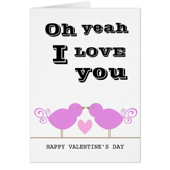 Tarjeta rosada linda del día de San Valentín de