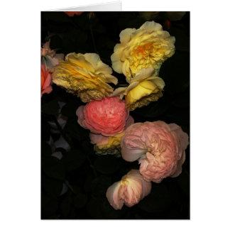 Tarjeta Rosas