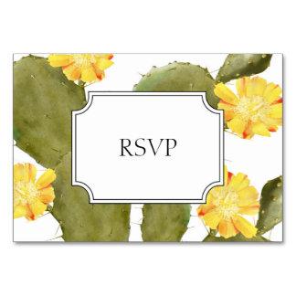 Tarjeta Rsvp floreciente de la invitación del boda del