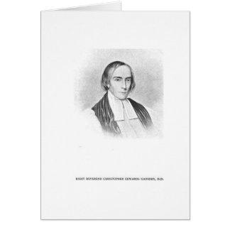 Tarjeta Rt. Rev. Christopher Edwards Gadsden