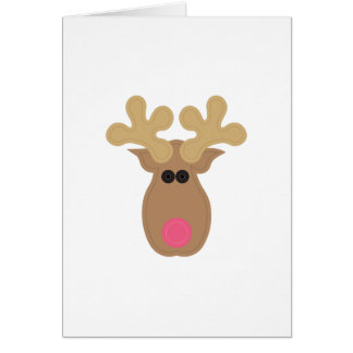 Tarjeta Rudolph hace frente