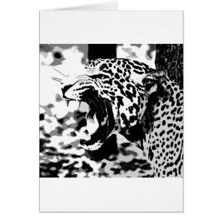 Tarjeta Rugido Jaguar