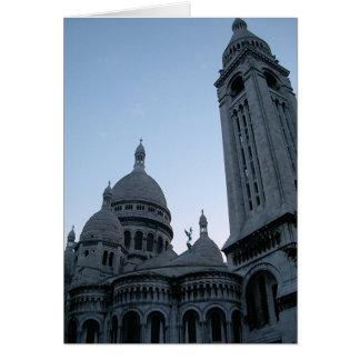 Tarjeta Sacre Coeur