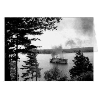 Tarjeta Sagamo en el lago Rosseau PhotoCard