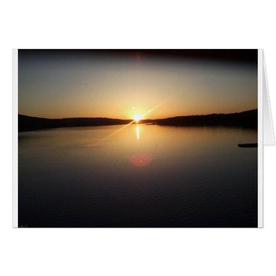 Tarjeta Salida del sol
