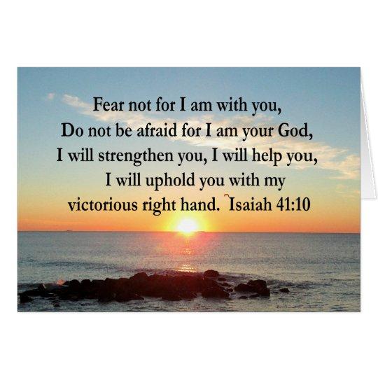 TARJETA SALIDA DEL SOL HERMOSA DEL 41:10 DE ISAÍAS