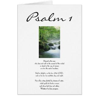 Tarjeta Salmo 1 - Feliz cumpleaños