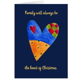 Tarjeta Saludo del día de fiesta del navidad del amor de