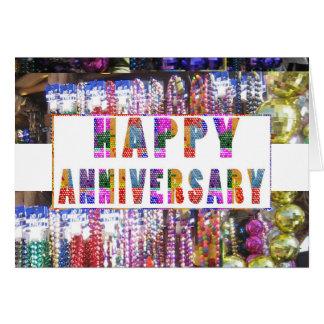 Tarjeta Saludos: Aniversario feliz de HappyANNIVERSARY